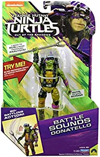 Teenage Mutant Ninja Turtles Movie 2 Out Of The Shadows Donatello Deluxe Figure