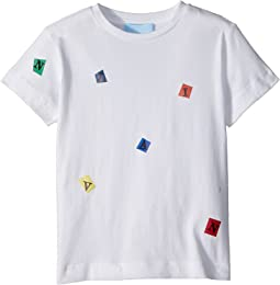 Lanvin Kids - Tossed Letters T-Shirt (Toddler/Little Kids)