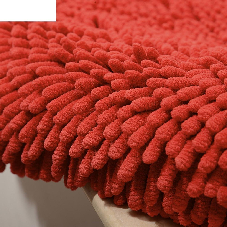 Doormat Thicken,Chenille mat Door, Indoor mats Bathroom,Anti-Slipping mats-H 60x150cm(24x59inch)
