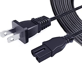 UL Listed 8ft Power Cord Replacement for Bernina Sewing Machine 120 130 135 140 145 153 155 163 165 650 170 180 190 200 22...