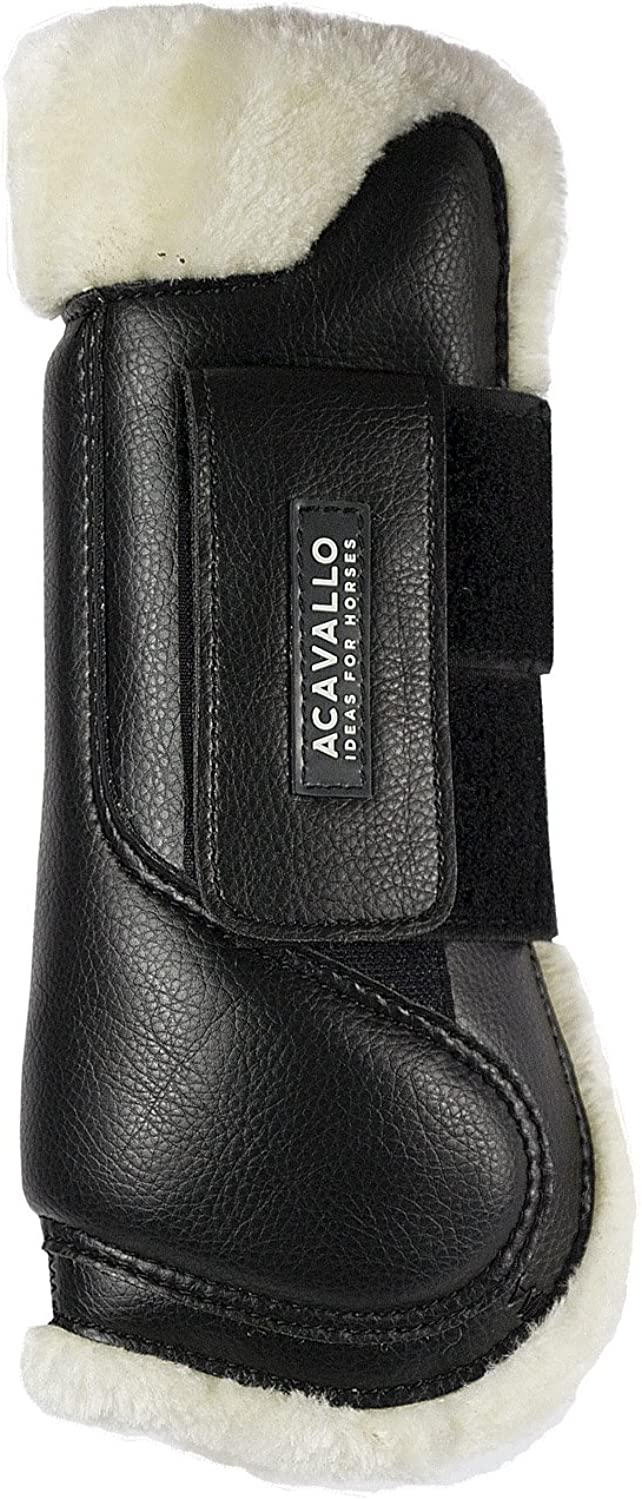 Acavallo Tendon Boot Leather and Wool