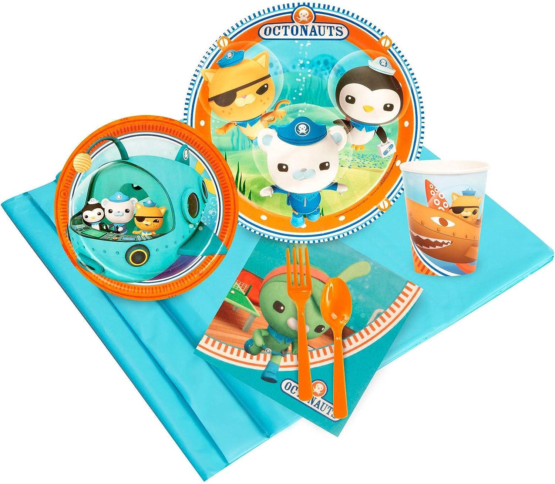BirthdayExpress Disney 初売り Octonauts Party Tableware for Pack 5☆好評 32 Gue