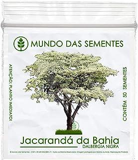 50 Sementes Jacarandá Da Bahia Dalbergia Nigra Árvore