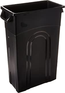 United Solutions TI0032 Highboy Waste Container, 23 Gallon, 1 Pack, Black