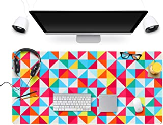 Gaming Mouse Pad Large Extended Mouse Pad Keyboard pad Laptop Mat Computer Game Mouse MatSensitivity Resistant Anti Slip Rubber Precise Stitched Edges Large Desk Mat (31.5