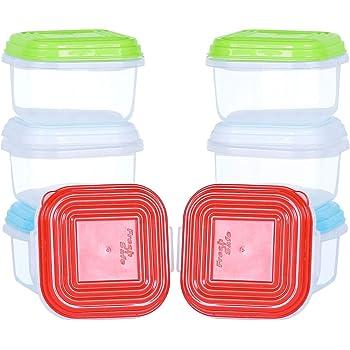 NEEZ Juego de recipientes para comida de bebé, Comida para bebés ...