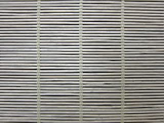 Cordless Woven Wood Roman Shades, 24W x 40H, Bayhead Grey, Any Size 20-72 Wide and 24-72 High