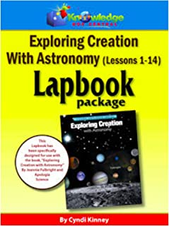 Apologia Exploring Creation With Astronomy - Lessons 1-14 Lapbook Package: Plus FREE Printable Ebook