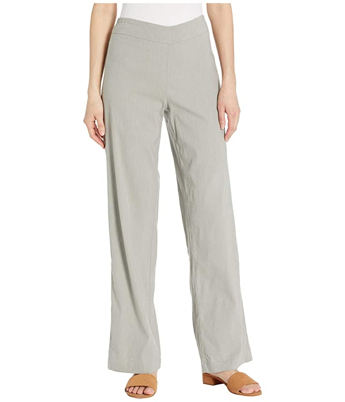 NIC+ZOE Traveling Pants (Sage) Women