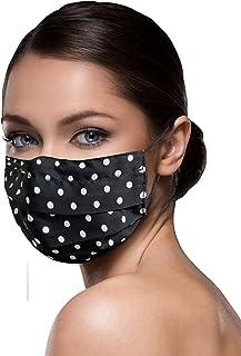 Mascherina Lavabile Mascherina Cotone Mascherina da donna e da uomo Traspirante unisex riutilizzabili e lavabili mascherin...