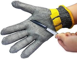 StillCool Guanti Resistenti Tagliati Nuova Guaina di Sicurezza Tagliata Guaina resistente in acciaio inossidabile Guaina di macellaio in metallo