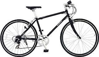 ANIMATO(アニマート) クロスバイク VIENTO(ヴィエント) 700C マットブラック シマノ7段変速 A-1