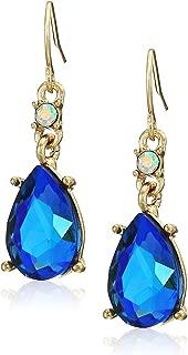 Jewelry Women's Stone Drop Earrings, Blue, One Size