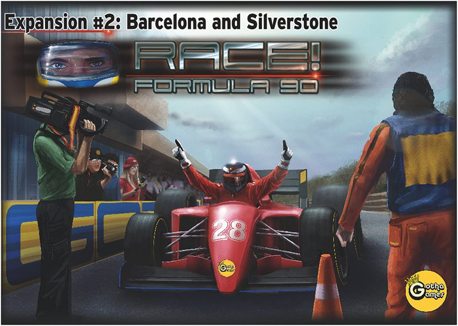 Race  Formula 90  Expansion  2  Barcelona and Silverstone by Gotha Games