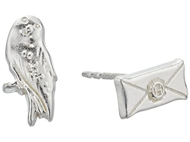 Alex and Ani Harry Potter Owl Post Earrings
