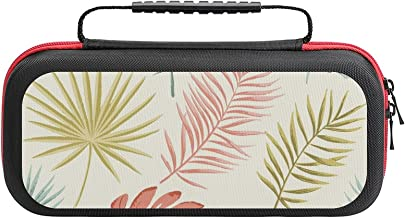 $26 » Summer Retro Pattern Case Compatible with Switch Case Protective Carry Bag Hard Shell Storage Bag Portable Travel Case for...