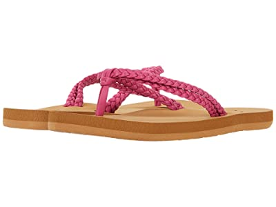 Roxy Kids Costas II (Little Kid/Big Kid) (Raspberry) Girl