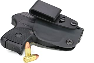 FoxX Holsters Deluxe Trapp Kydex IWB Holster - fits Ruger LCP II .380 Compatible Our Smallest Inside Waistband Holster Adjustable Cant & Retention, Conceal Carry