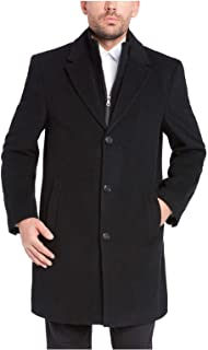 Men's Wool Cashmere Blend Overcoat Dress Coat, Variety