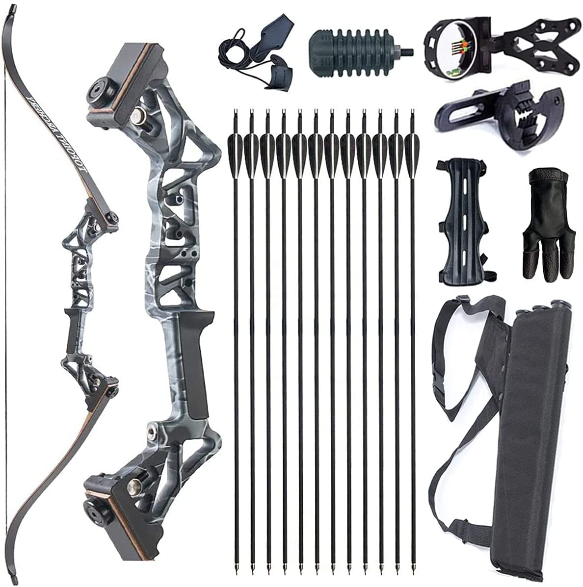 Monleap R3 Takedown Max 65% OFF Recurve Bow and Arrows Archery f Bargain sale Set Package
