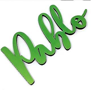 Nomi decorativi in legno Nomi personalizzati per la decorazione e la casa • Nomi decorativi in legno • Cartello con no...