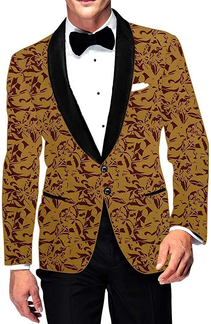 INMONARCH Mens Slim fit We OFFer at Topics on TV cheap prices Casual Yellow Blazer Cotton Sport Jacket