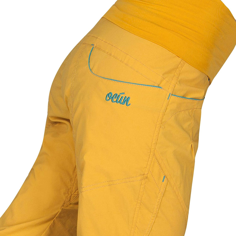 Ocun Noya Women's Pants Yellow/Blue