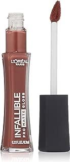 L'Oréal Paris Infallible Lip Pro Matte Gloss, Statement Nude, 0.21 fl. oz.