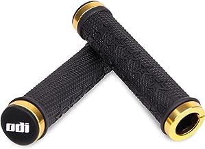 Odi The Machine Lock-On Grips Black w/Gold Clamps