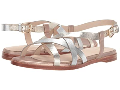 Cole Haan Analeigh Grand Strap Sandal (Gold/Silver/Rose) Women