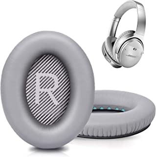 Replacement Ear Pads Cushion Memory Foam Ear Cup Repair Compatible for Bose Headphones Quiet Comfort QC35 / 35 II/SoundTru...