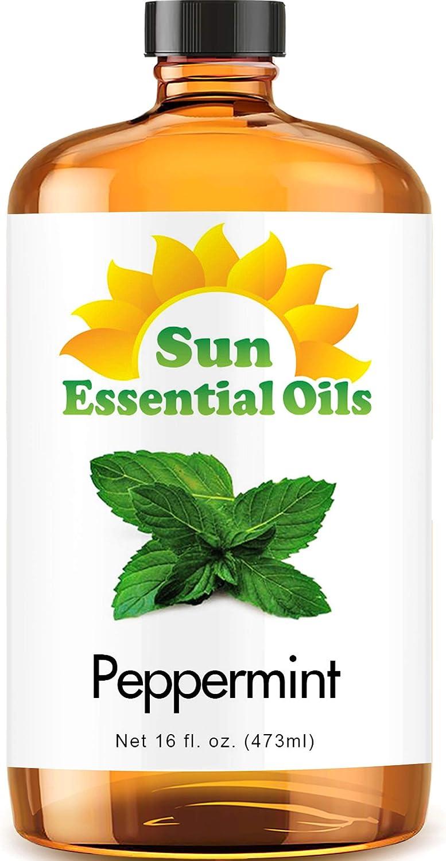 Sun Organic Peppermint Essential Oil