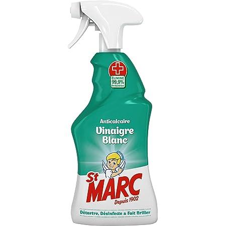St Marc Pistolet Spray Nettoyant Anticalcaire au Vinaigre Blanc 500 ml