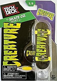 2016 Tech Deck TD Skate Co. Series 4 [5/8] - Creature Finger Skateboard with Display Stand