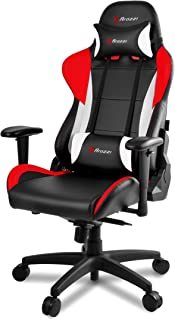 Arozzi Verona Pro V2 Premium Racing Style Gaming Chair with High Backrest, Recliner, Swivel, Tilt, Rocker and Seat Height ...