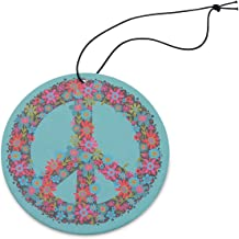 Natural Life AFR043 Blue Peace Sign Air Freshener, Pack of 3