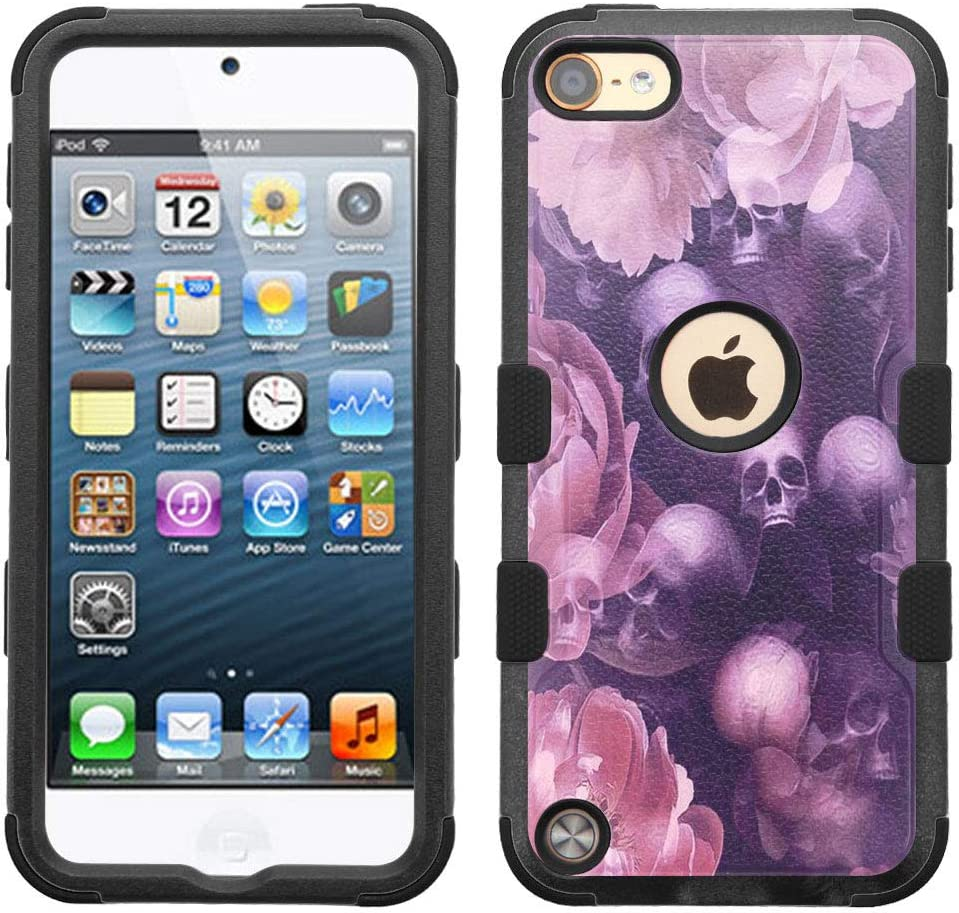iPod Touch 7 Case Translated 6 Layer Hybr Dual Hard+Rubber