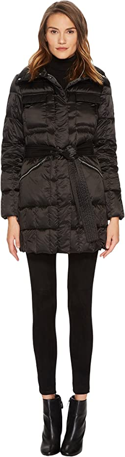 Diane von Furstenberg - Brooklyn Lightweight Down Tie Waist Jacket