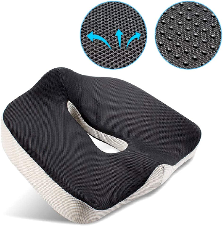 Orthopedic Memory Foam Chair Seat Cushion Pillow Pad Wheelchair Mats for Postpartum Hemorrhoid Treat Chair Cushion Seat Mat