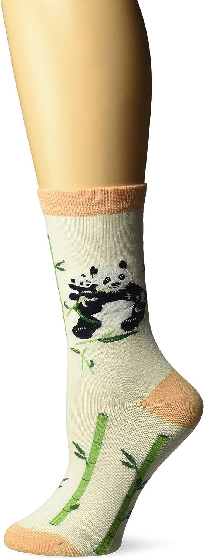 K. Bell Socks womens Playful Animals Novelty Casual Crew Socks