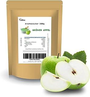 JuliDon® Sucre aromatisé vert pomme - Pour machine à barbe à papa - 200 g