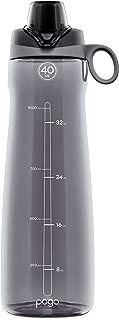 Pogo 40oz BPA-Free Tritan Plastic Water Bottle