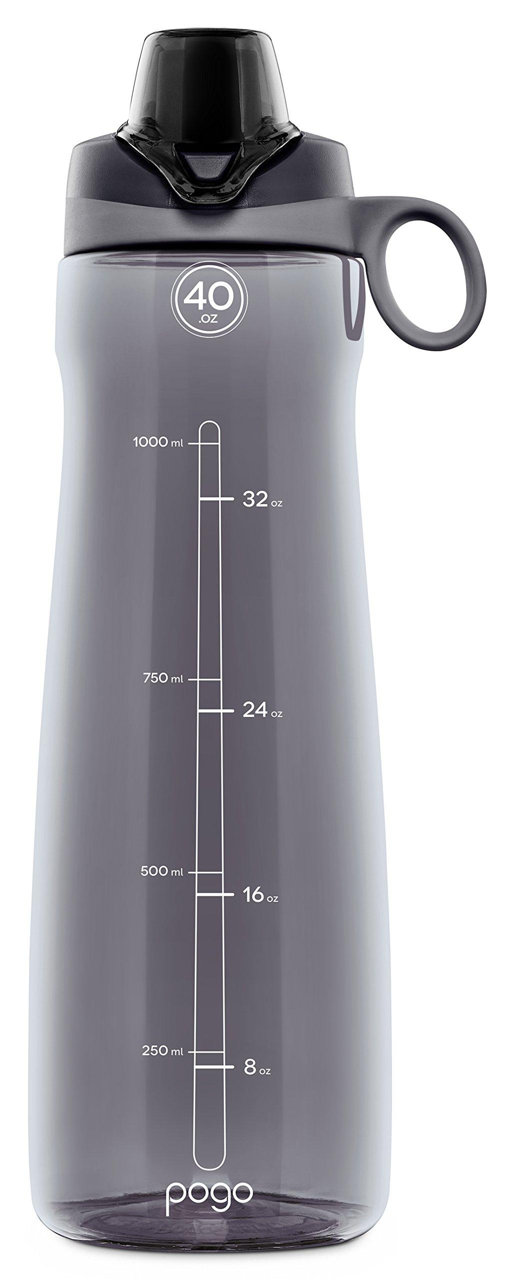 Pogo BPA Free Plastic Water Bottle