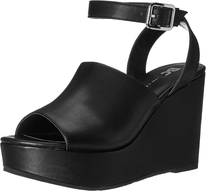 BC Footwear Womens Admit One Wedge Sandal