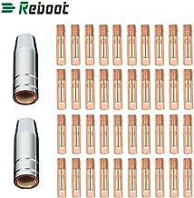 """Reboot 42 STKS MIG Lassen MB15 15AK Contact Tip 0.8/1.0mm 0.3 """"MIG/MAG lasbrander Verbruiksgoederen"""
