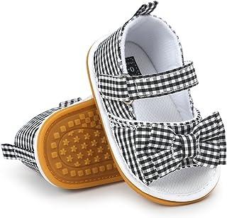 Sandali da Bambina, Bowknot Scarpe per Neonata Estive Scarpine Primi Passi