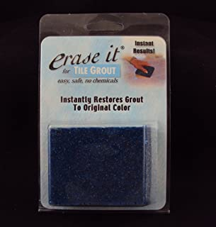 Erase It Grout Cleaner, Instantly Restores Grout To Original Color.