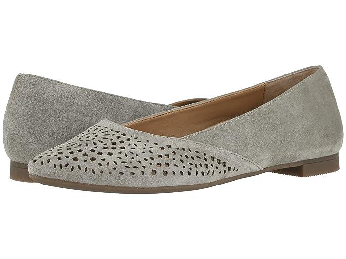 VIONIC  Carmela Perf (Dark Taupe) Womens Shoes