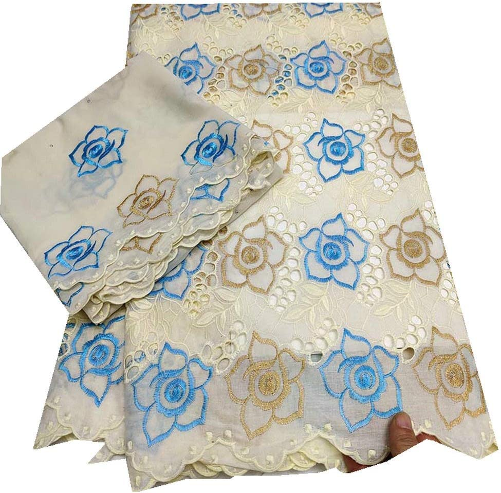 LACEJUN Swiss Voile Lace Mail order cheap Fabric Milwaukee Mall Cotton L African Nigerian