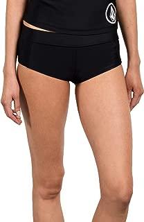 Volcom Women's Simply Solid Boy Cut Bikini Bottom